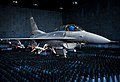 40th Flight Test Squadron F-16 Fighting Falcon sits in the anechoic chamber.jpg