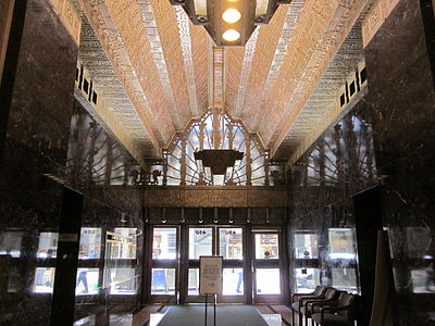 Lobby Of 450 Sutter Street In San Francisco By Timothy Pflueger 1929