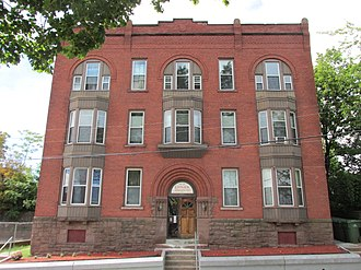 National Register of Historic Places listings in Hartford, Connecticut - Image: 49 51 Spring Street, Hartford CT