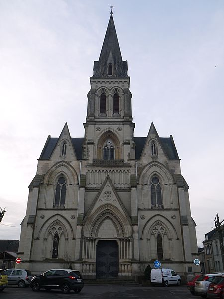 L'église Saint-Marcel.