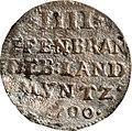4 Pfennige, Landesdenkmalamt Berlin, Ausgrabung U5, 3092 – 5950, Vorderseite.jpg
