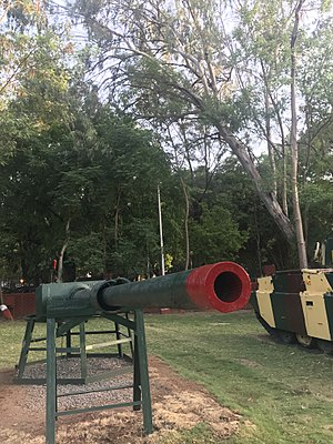 BL 5.5 inch Mark I naval gun - 5.5 inch Mk I at National War Memorial Southern Command