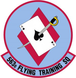 563d Flying Training Squadron - 563d Flying Training Squadron Patch
