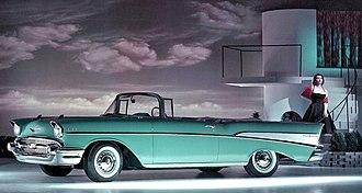 Chevrolet Bel Air - 1957 Chevrolet Bel Air Convertible