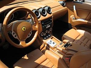 Ferrari 612 Scaglietti - Interior