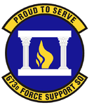 673d Force Support Squadron emblem.png