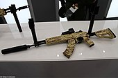 7.62mm AK-15 6P71 assault rifle at Military-technical forum ARMY-2016 02.jpg