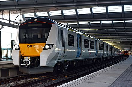 Govia Thameslink Railway provide frequent train services through Hertfordshire on the Midland Main Line and East Coast Main Line
