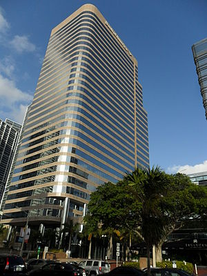 701 Brickell Avenue - Image: 701 Brickell Avenue (The Lincoln Center) building from the south