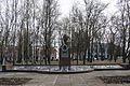 74-220-0083. Братська могила 283 радянських воїнів, які загинули при звільненні села у вересні 1943р. і пам'ятний знак 360 воїнам-односельча.jpg