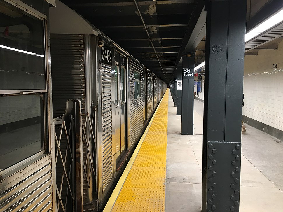 86 Street Uptown Platform View