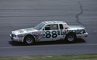 Rusty Wallace - No. 88 Rookie of the Year racecar (1984)