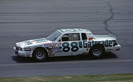 No. 88 Rookie of the Year racecar (1984) 88RustyWallace1984.jpg