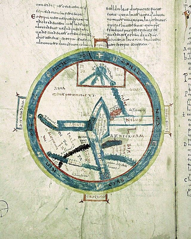 Mapa De T En O Wikiwand