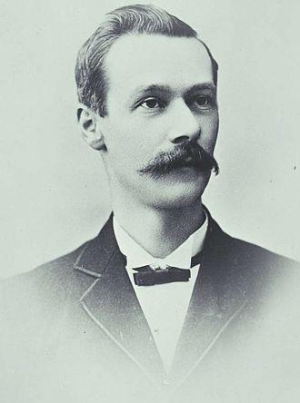 Alexander Peacock - Peacock in 1898.