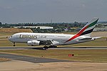 A6-EUQ A380 emirates BHX 07-07-18 (42727245164).jpg