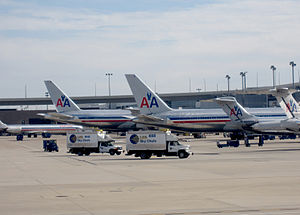 American Airlines fleet at Dallas/Fort Worth I...