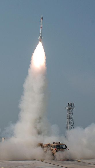 Anti-ballistic missile - India's Advanced Air Defence (AAD) interceptor missile