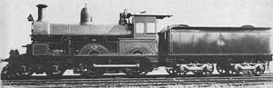 Phoenix Foundry - AA class locomotive of 1900