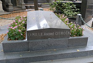 André Citroën - His grave in Paris