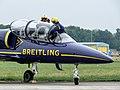 AFB Volkel (NL), Breitling Jet Team, ES-YLP, L-39 Albatros P1010254 (50851975863).jpg
