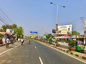 Enikepadu - AH-45 near Autonagar-150ft road Jn., Enikepadu