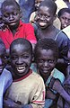 ASC Leiden - W.E.A. van Beek Collection - Dogon portraits 02 - School children in Tireli, Mali, 1985.jpg