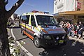 ASNSW vehicle in the SunRice Festival parade in Pine Ave.jpg