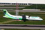 "ATR 72-500 Naysa (NAY) ""Binter Canarias colors"" F-WWEM - MSN 864 - Named Baifo - Will be EC-LAD (3427830657).jpg"