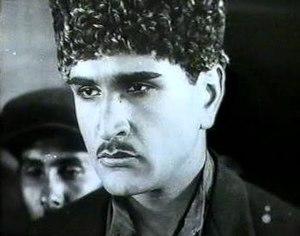 Alasgar Alakbarov - Alasgar Alakbarov in the movie Latif (1930)