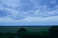 A Full Moon Rises Over the Savannah in Nairobi National Park (17170396198).jpg