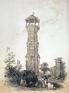 A Jaina tower at Chittor