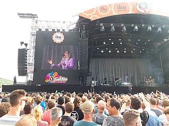 Maynard James Keenan - A Perfect Circle performing at Pinkpop Festival, Netherlands in 2018