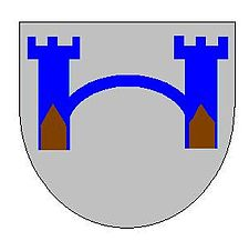 Coat of arms of House Frey A Song of Ice and Fire arms of House Frey grey.jpg