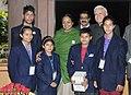 A delegation of National Foundation for Communal Harmony meeting the Speaker, Lok Sabha, Smt. Meira Kumar, in New Delhi on November 25, 2013.jpg