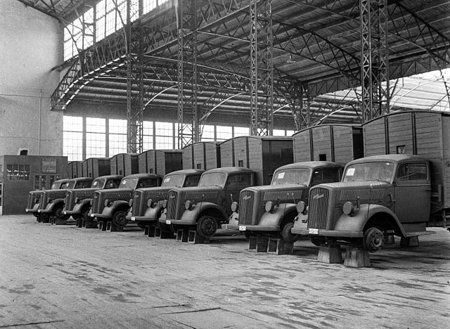 Opel Blitz Vans manufacturing