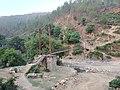A suspension bridge above the Surnaya River.jpg