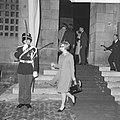 Aankomst prinses Christine van Zweden bij Paleis op de Dam, Bestanddeelnr 918-8577.jpg