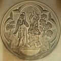 Aarschot - Gasthuiskapel - Detail altaar - medaillon met offer van Kaïn en Abel.jpg