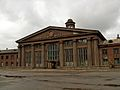 Abandoned Stalin's time Airport building in Riga - ainars brūvelis - Panoramio.jpg