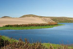 Abbotts Lagoon - Image: Abbotts Lagoon, October 2012