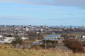 Aberdeen from Tollohill Woods