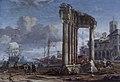Abraham Jansz. Storck (1644-1708) - Capriccio of Leghorn (Livorno) - 1401148 - National Trust.jpg