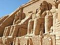 Abu Simbel temple angle view.jpg