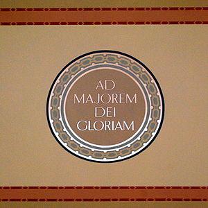 Ad Majorem Dei Gloriam at St. Ignatius in Chic...
