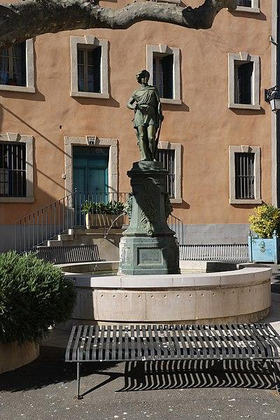Adissan (Hérault) - fontaine