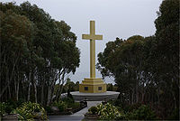 War Memorial Cross on Mount Macedon