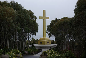 Mount Macedon - The Mount Macedon Memorial Cross