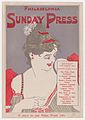 Advertisement for Philadelphia Sunday Press- Oct. 13, 1895 MET DP866322.jpg