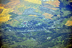 Aerial view of Cheney, Washington, 2013